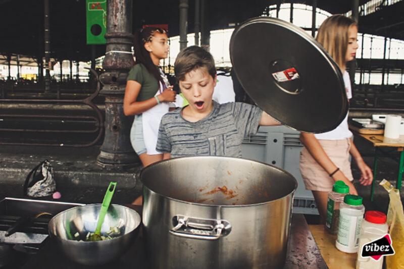 Ouder-kind koken